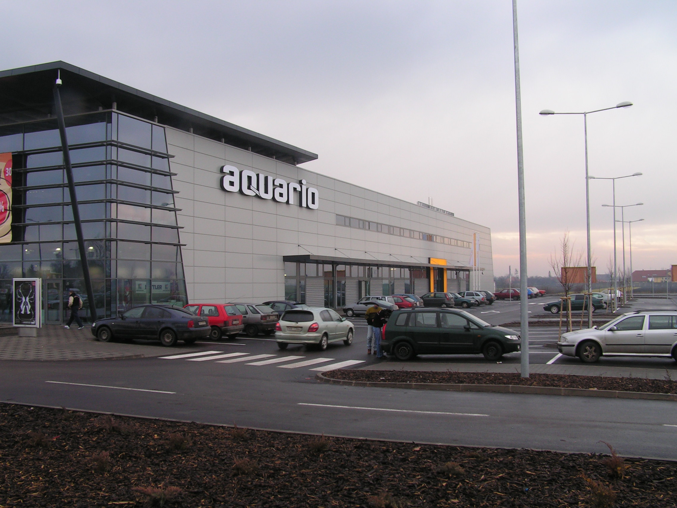 Aquario Shopping Center Nové Zámky - Bouw